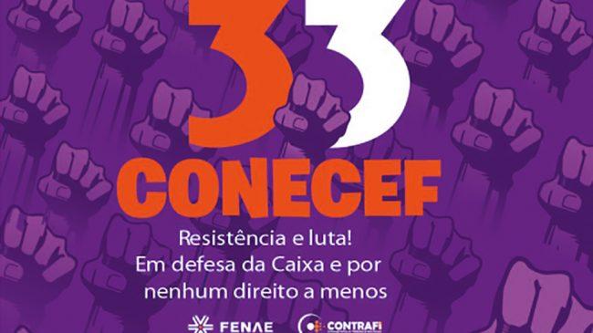 Revista especial sobre 33º Conecef começa a circular