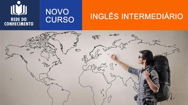 Lançado curso Inglês Intermediário