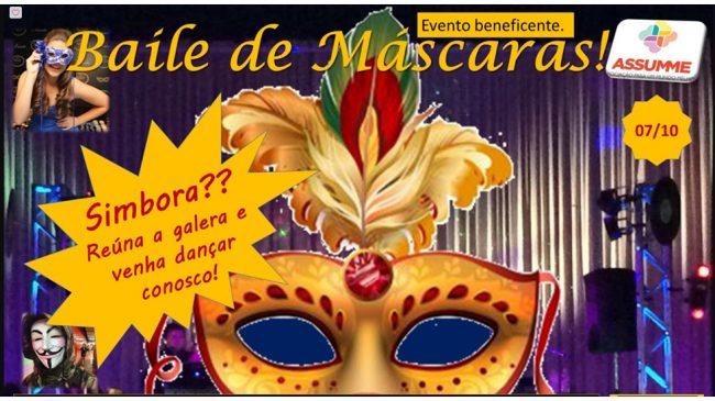 Baile de Máscaras beneficente ocorre em outubro no clube