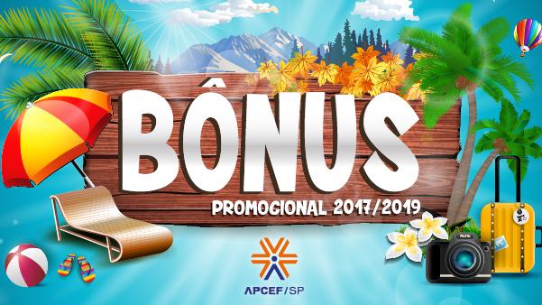 Bônus Promocional: peça até agosto de 2019 e utilize até março de 2020