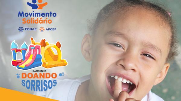 Vamos doar sorrisos? Começa nova campanha em prol do Lar de Crianças
