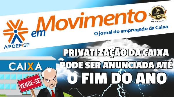 Confira a edição n. 1.241 do jornal APCEF em Movimento