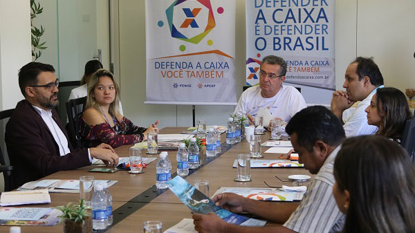 Comitê Nacional define agenda para reafirmar caráter 100% público da Caixa