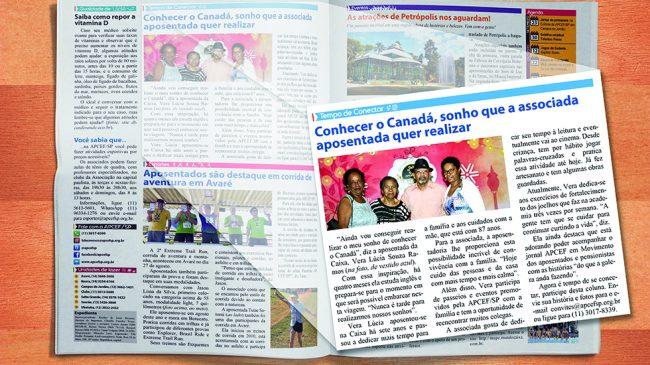 Jornal dos aposentados promove reencontro entre colegas da Caixa