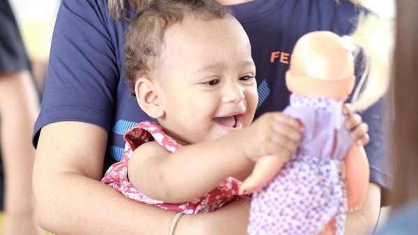 Doações transformam vidas no Lar das Crianças em Petrópolis