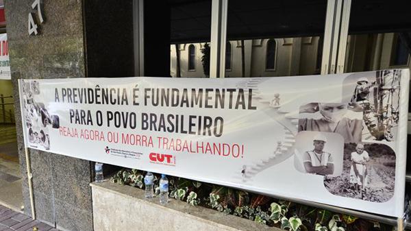 Ato contra a reforma da previdência será na Praça da Sé dia 20