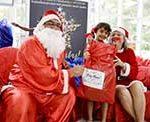 Festa de Natal da ONG Moradia e Cidadania