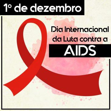 Dezembro Vermelho: mês do combate à AIDS
