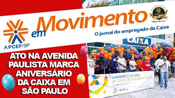 Confira a edição n. 1.250 do jornal APCEF em Movimento