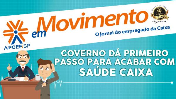 Confira a edição n. 1.249 do jornal APCEF em Movimento