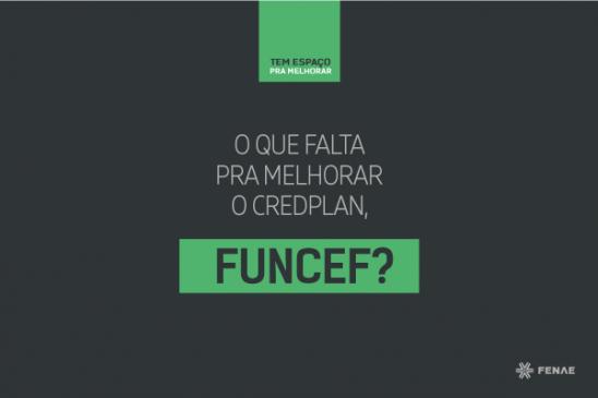 Funcef ainda não apresentou melhorias no Credplan