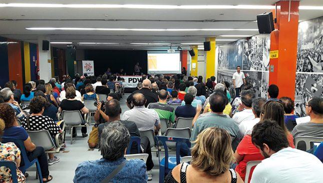 #tbt Reunião do PDVE