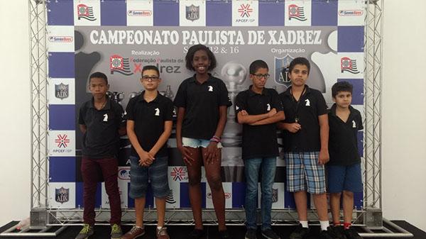 Clube sedia o Campeonato de Xadrez Paulista Para Menores