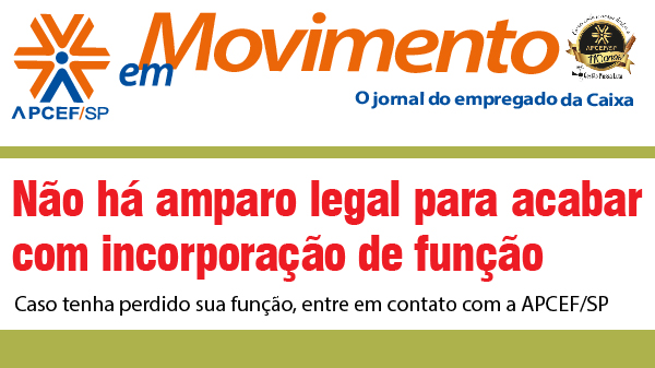 Confira a edição n. 1.258 do jornal APCEF em Movimento