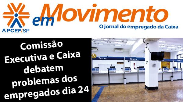 Confira a edição n. 1.262 do jornal APCEF em Movimento