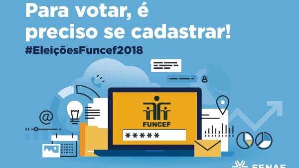 Hoje é o último dia para votar nas eleições Funcef