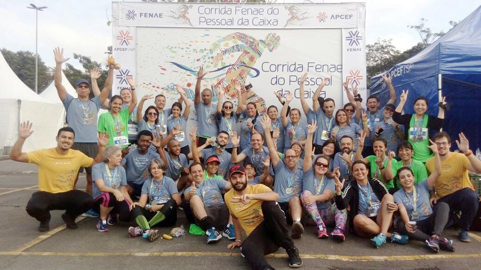 Associados participam da etapa GRAACC, na Corrida Fenae