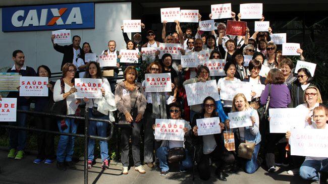 Dia de Luta em Defesa do Saúde Caixa: participe!