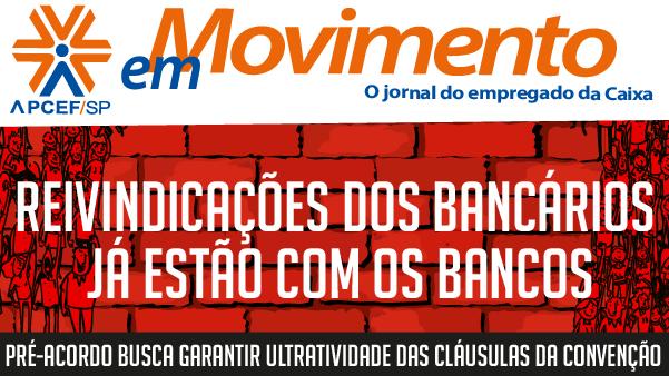 Confira a edição n. 1.270 do jornal APCEF em Movimento