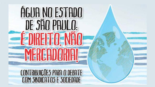 No Dia do Meio Ambiente, APCEF/SP participa de lançamento de cartilha sobre importância da água