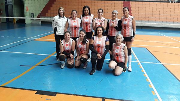Clube recebe mais uma rodada da Copa de voleibol da APCEF/SP