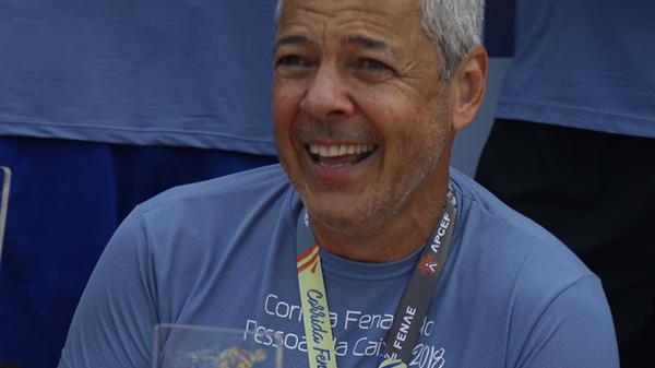 Associado supera câncer e ganha medalha na corrida de Suarão