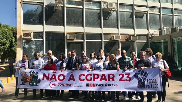 Como está a implementação da CGPAR no plano de saúde das outras estatais?