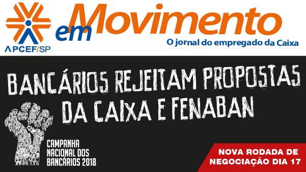 Confira a edição n. 1.278 do jornal APCEF em Movimento
