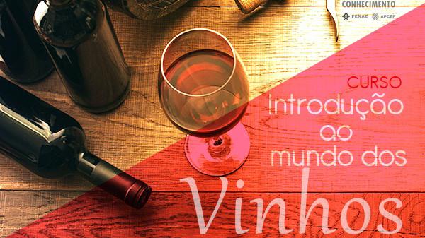 Rede do Conhecimento disponibiliza curso sobre vinhos