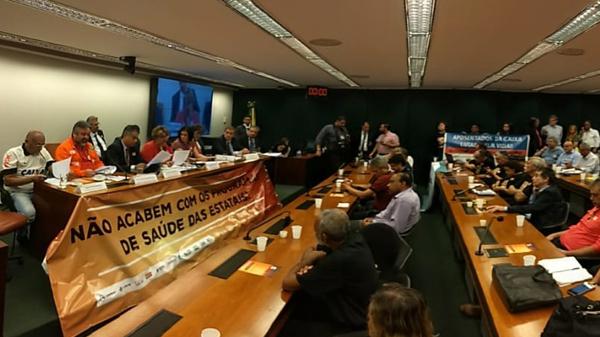 Trabalhadores definem próximos passos da mobilização em defesa dos programas de saúde das estatais