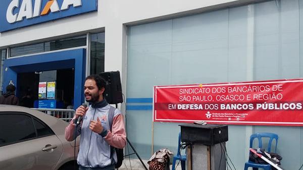 APCEF/SP cobra mais empregados para agência Vila Joaniza