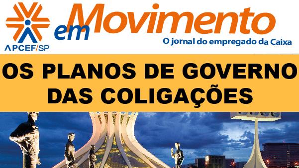 Confira a edição n. 1.286 do jornal APCEF em Movimento