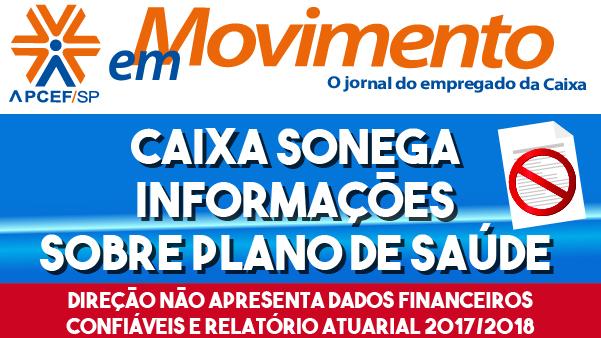 Leia edição especial do jornal semanal sobre Saúde Caixa