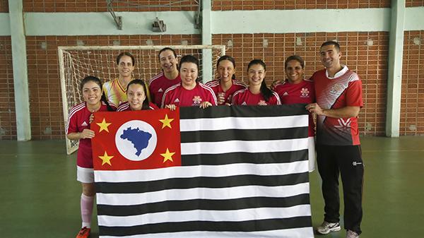 Futsal feminino agitou o sábado no clube