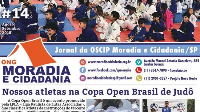 Confira edição do jornal preparado pela ONG Moradia e Cidadania