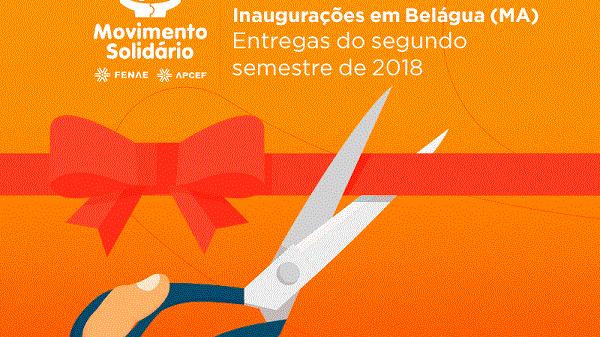 Novas inaugurações marcam três anos do Movimento Solidário em Belágua