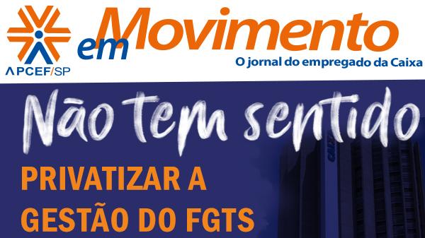 Confira a edição n. 1.290 do jornal APCEF em Movimento