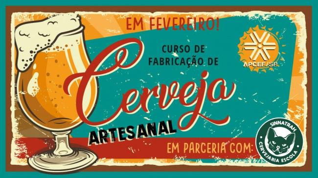 Hoje, 31, é o último dia para se inscrever no Curso de Cerveja Artesanal