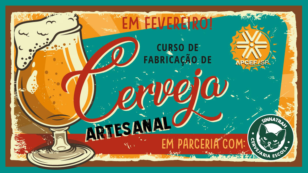 Em fevereiro, tem Curso de Cerveja Artesanal, no clube