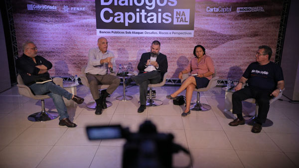 """ Diálogos Capitais"": defesa dos bancos públicos deve envolver toda a sociedade"