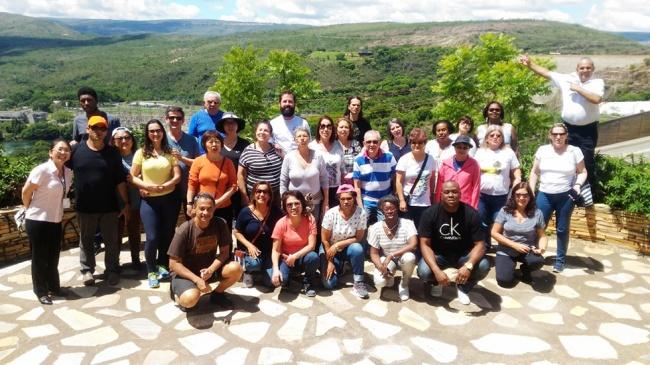 Segundo grupo de associados visita Capitólio em excursão