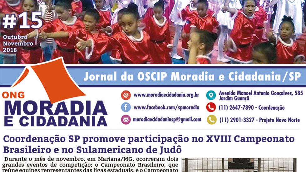 Confira jornal preparado pela ONG Moradia e Cidadania