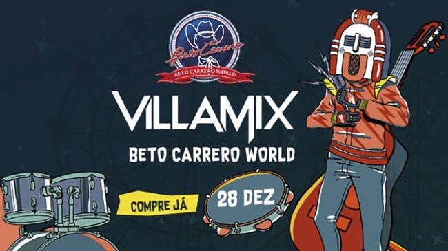 #APCEFIndica: Villa Mix Festival Beto Carrero World