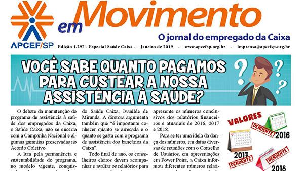 Confira edição especial do jornal sobre Saúde Caixa