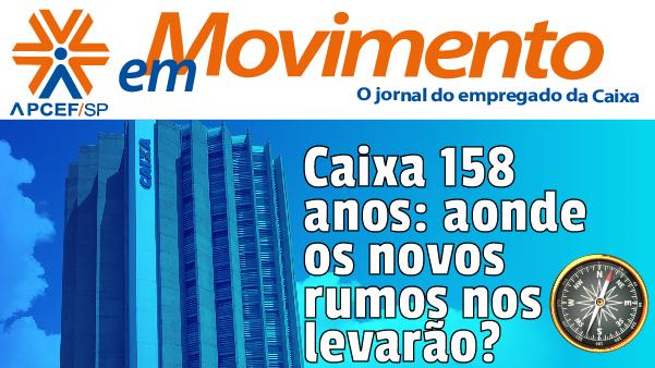 Confira a edição n. 1.299 do jornal APCEF em Movimento