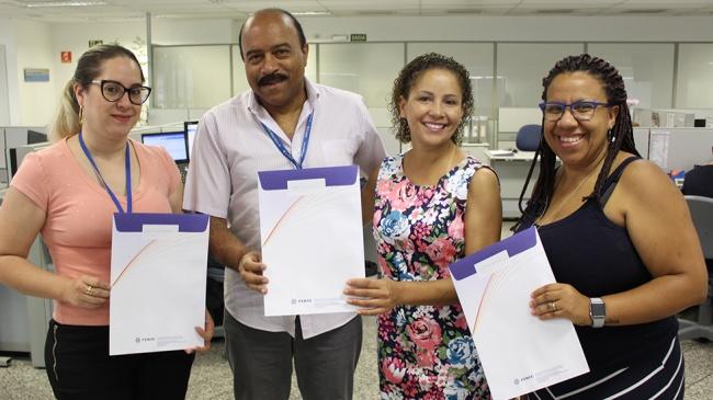 Empregados fazem curso de CPA 20 na Rede do Conhecimento