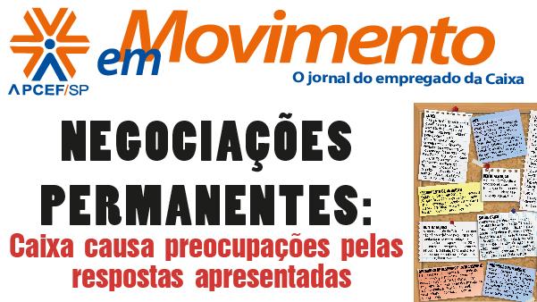 Confira a edição n. 1.303 do jornal APCEF em Movimento