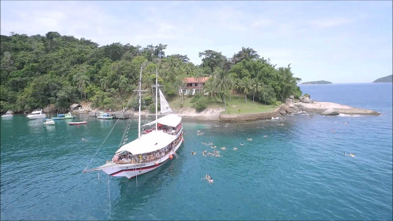 #APCEFIndica Ilha do Cocos, em Paraty. Partiu, associado?