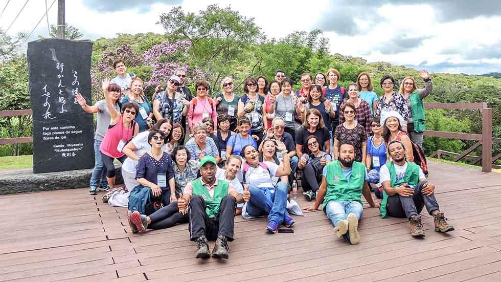 Associados visitam Parque Ecológico Imigrantes, em SBC