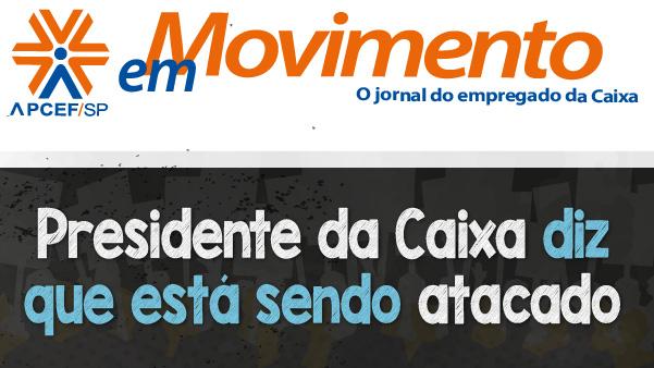 Confira a edição n. 1.308 do jornal APCEF em Movimento